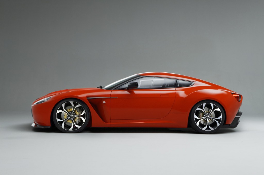 Aston Martin V12 Zagato will appear in the form of an endurance race car