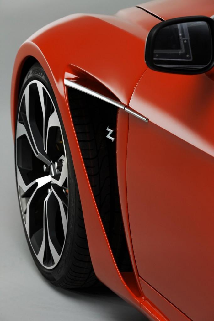 The Aston Martin V12 Zagato delivers a beautiful and muscular design