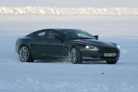 Aston Martin Rapide to drive Alaska