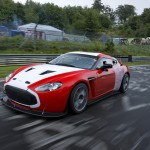 Aston Martin V12 Zagato at Nurburgring