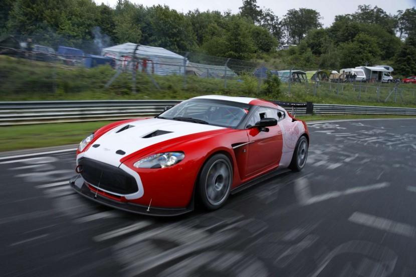 Aston Martin V12 Zagato at Nurburgring