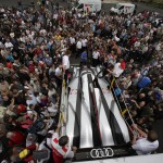 Audi offer live race car footage and updates for Le Mans 24 hour race