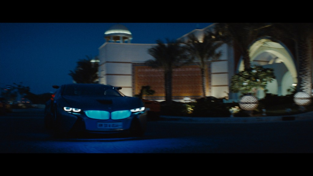 BMW Vision Efficient Dynamics Concept car is back in Hollywood with Tom Cruise in Mission Impossible Ghost Protocol