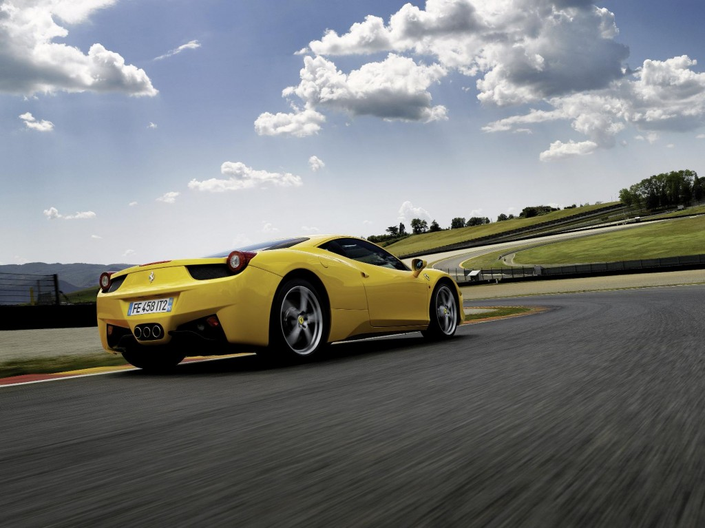 Ferrari 458 Italia will also be at the Goodwood Festival of Speed
