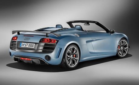 New Audi R8 GT Spyder