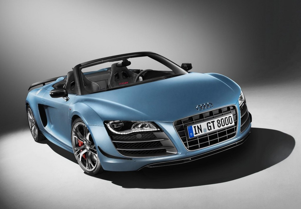 The Audi R8 GT drops its roof for the new Spyder model