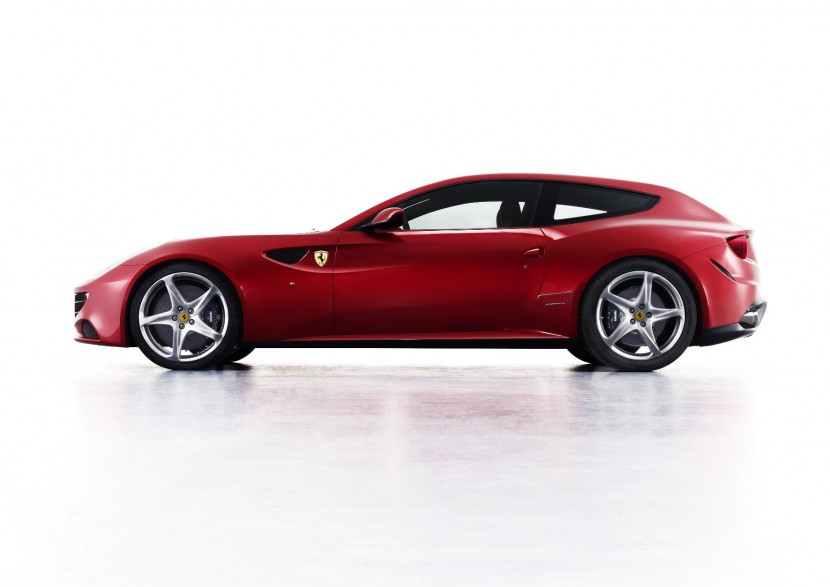 Ferrari FF at the Goodwood Festival of Speed