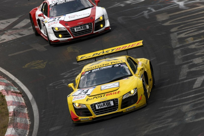 Audi to take four R8 LMS cars to the Ring