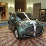 Aston Martin Cygnet present