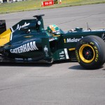 Caterham Cars enter Formula One