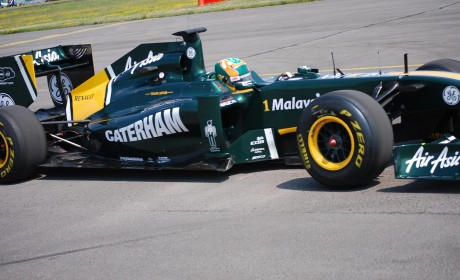 Caterham Cars enter Formula One with Team Lotus