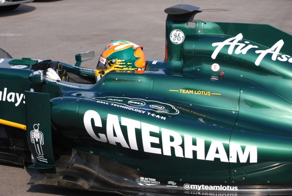 Caterham Cars enter Formula One with Team Lotus
