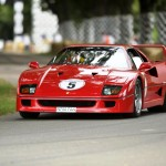 Ferrari F40 at the Goodwood Festival of Speed