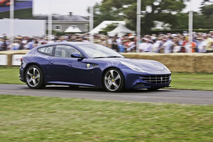 James Martin, Chris Evans, the Ferrari FF and many others appear at the 2011 Goodwood Festival of Speed