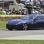 Ferrari FF at drives the hill at Goodwood Festival of Speed