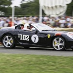 Ferrari SA Aperta at the Goodwood Festival of Speed