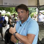 James Martin talking about the Ferrari FF drive up the hill at the Goodwood Festival of Speed