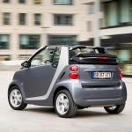 smart fortwo pearlgrey rear exterior