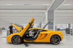 A great yellow finish for this McLaren MP4-12C