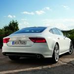 A white Audi A7