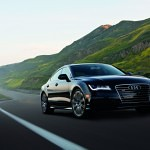 Award winning black 2012 Audi A7