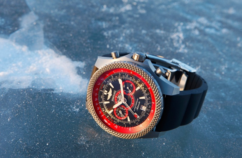 Breitling and Bentley bring you the Ice-Speed Record watch