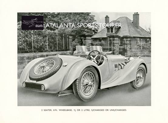 British sports car company Atalanta Motors to return after 75 years