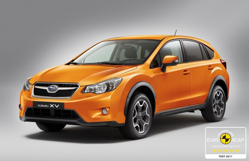 Five star Euro NCAP rating for new Subaru XV