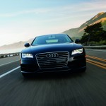 Front view of award winning 2012 audi A7