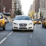 Jaguar XF diesel in New York
