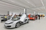 McLaren MP4-12C sports cars almost ready for delivery