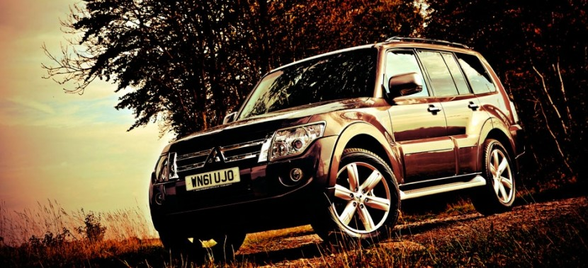 New features for the 2012 Mitsubishi Shogun