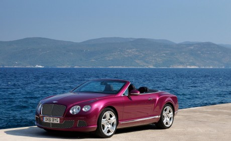 Bentley Continental GTC revealed in USA