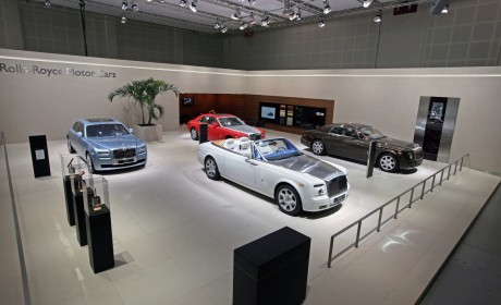 Rolls Royce at the Dubai International Motor Show