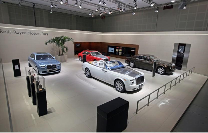 Rolls Royce at the Dubai International Motor Show