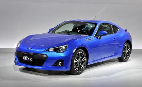 Subaru BRZ unveiled at Tokyo Motor Show
