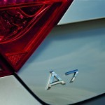 The 2012 Audi A7 badge