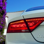 The Audi A7 rear light