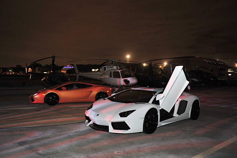 The Lamborghini Aventador LP 700-4 debuts in Brazil