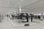 The beginning of the McLaren MP4-12C production line