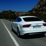 The sleek lines of the 2012 Audi A7
