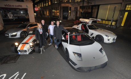 Breakfast show team get Top Gear Live Supercar commute experience