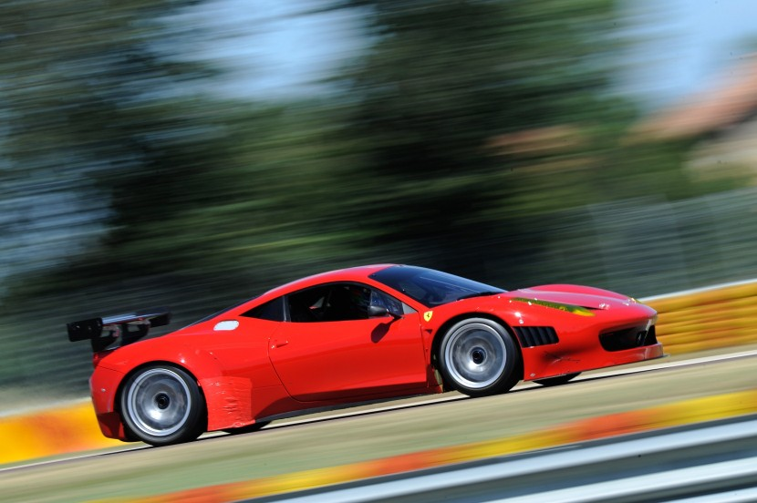 The Ferrari 458 Grand Am readies for Daytona 24 Hours