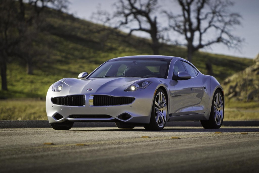 Fisker Karma has been crowned 'Luxury Car of the Year' by BBC Top Gear magazine