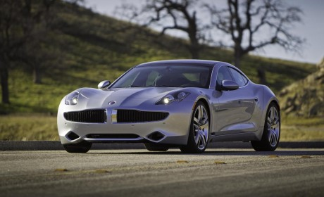 TopGear awards for Fisker Karmer and Range Rover Evoque