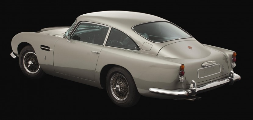 George Harrison's Aston Martin DB5 sells for £350k