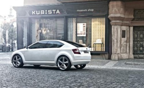 Skoda reveal new pictures of VisionD concept