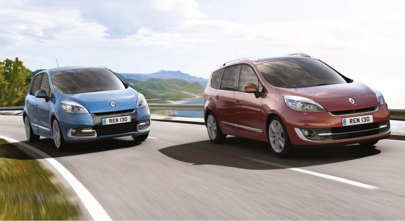 The new 2012 Renault Scénic and Grand Scénic range revelaed