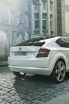 Short rear overhnag on the Škoda VisionD Concept
