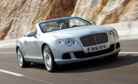 Bentley show the new Continental GTC at Qatar Motor Show